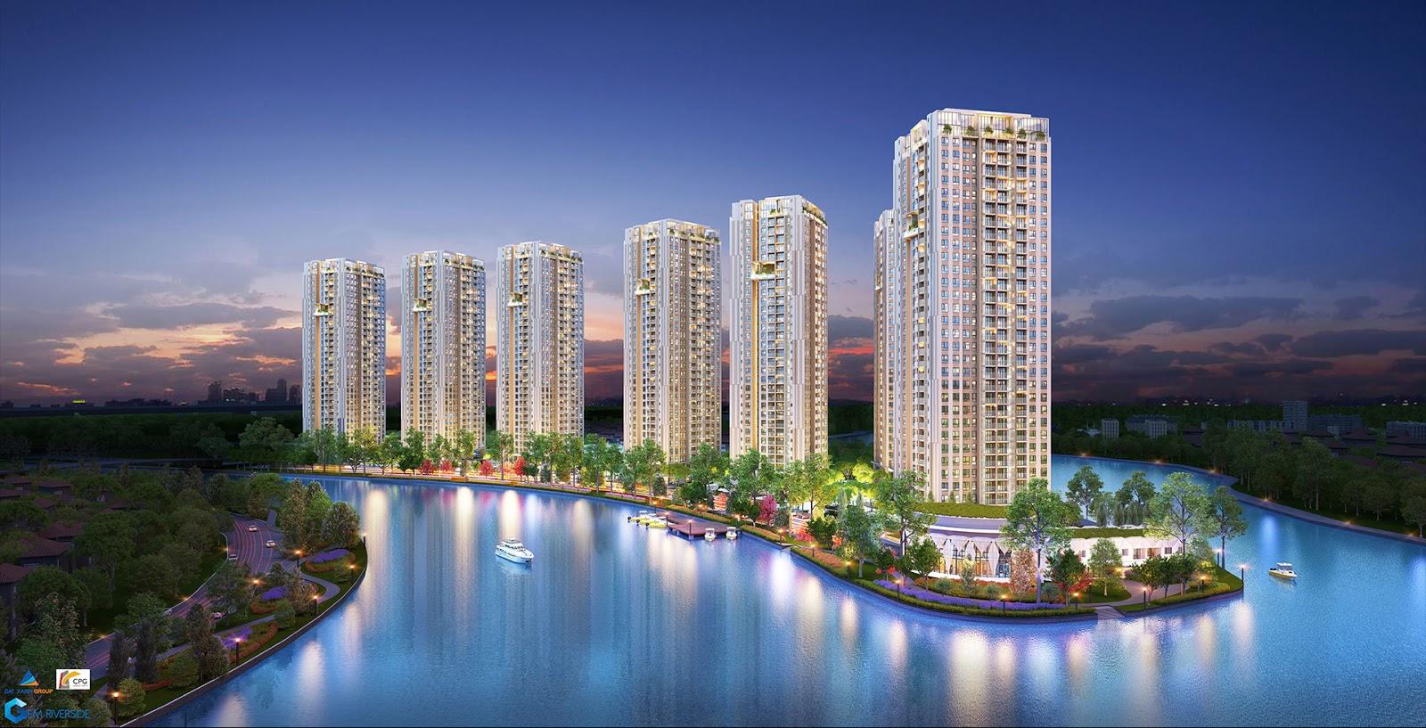 Căn hộ Gem Riverside: Vĩnh Hạ Long giữa lòng Sài Gòn