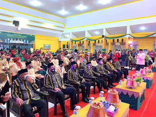 Kapolres Pangkep Menghadiri Pembukaan MTQ ke - 31 Tingkat Provinsi