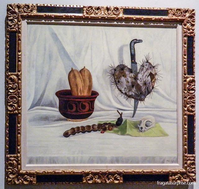 """""""Coração Egoísta"""", da pintora mexicana Olga Costa"""