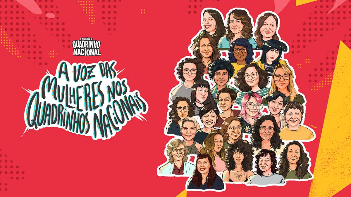 Social Comics lança documentário sobre a voz das mulheres nos quadrinhos brasileiros