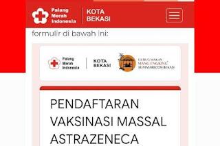 Link dan Cara Daftar Vaksin AstraZeneca di Summarecon Kota Bekasi 8-10 September 2021