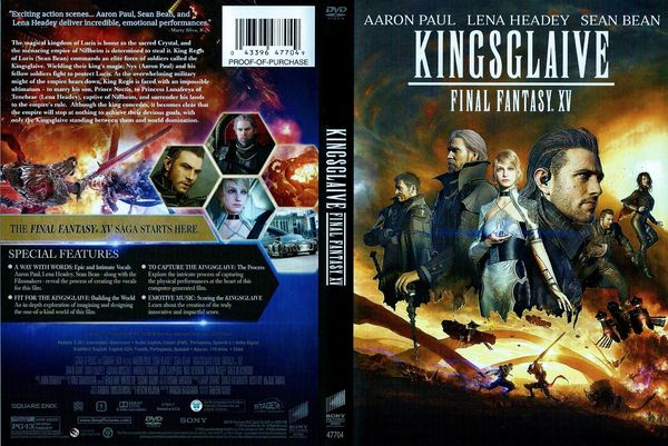 Kingsglaive: Final Fantasy XV – Latino, Inglés