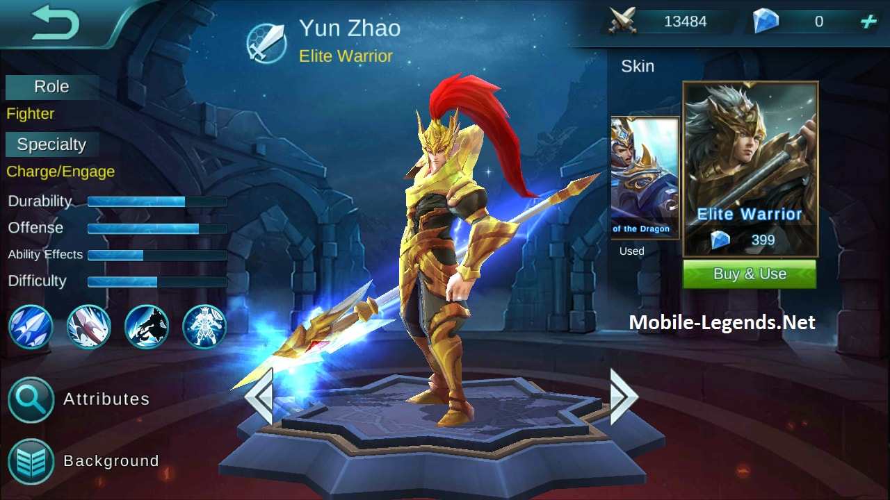 Build item full damage for yun zhao or zilong mobile
