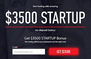 Bonus Forex Tanpa Deposit STARTUP $3500 - InstaForex