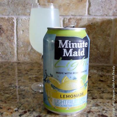 Minute Maid Light Lemonade Fruit Drink in 12-ounce Can by Julie Ann Brady