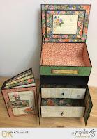 Little Women Bureau and Mini Album 1 Clare Charvill Graphic 45