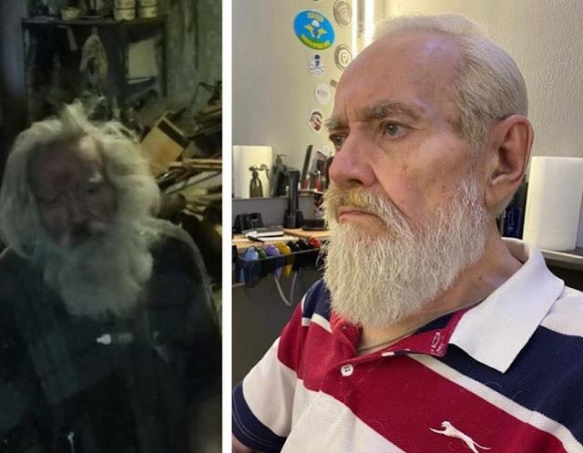 Челябинка спасла слепого деда, брошенного внуком в квартире без условий!