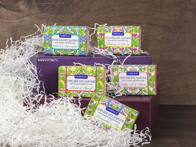 мыло натуральное кусковое Atelier del Sapone Faberlic (отзывы с фото)