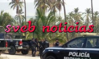 Amanece un ejecutado sobre boulevard costero de Lázaro Cárdenas en Michoacan