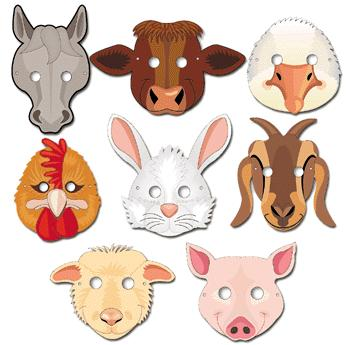woodland animal masks template - page 3 how to for masks costumes and glasses animal