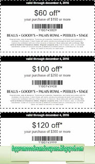 Free Printable Bealls Coupons