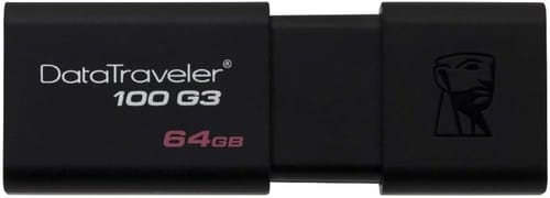 Review Kingston 64GB 100 G3 USB 3.0 DataTraveler