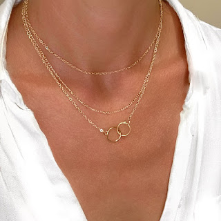 bijoux tendance hiver 2021 collier