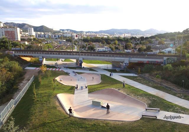 skatepark marseille saint jean du désert savon