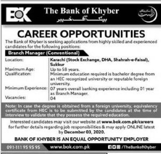 bank-of-khyber-bok-jobs-2020-apply-online