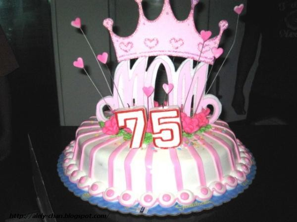 Happy 75th Birthday Mommy