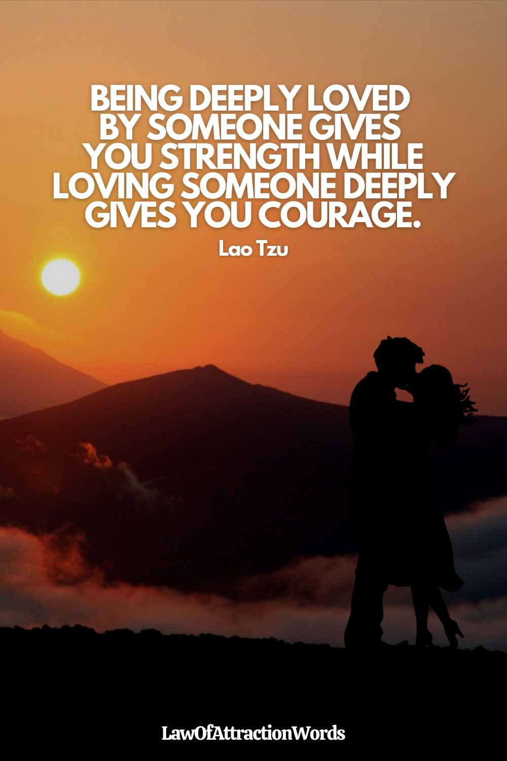 Deep Law Of Attraction Love Quotes