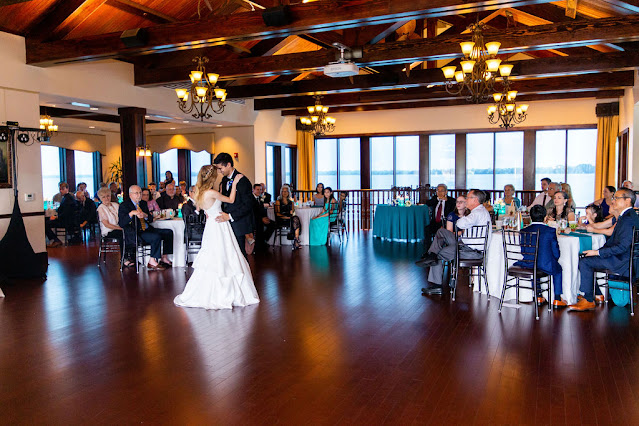 first dance at tavares pavilion on the lake