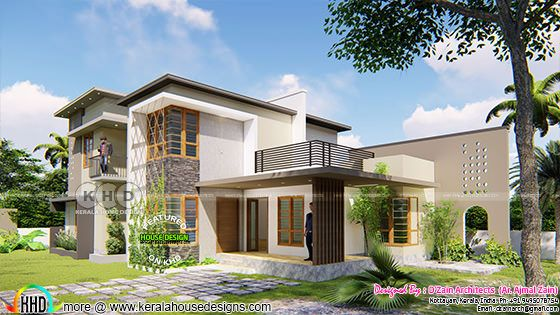 Front view of Billow Crate; Contemporary Style Residence