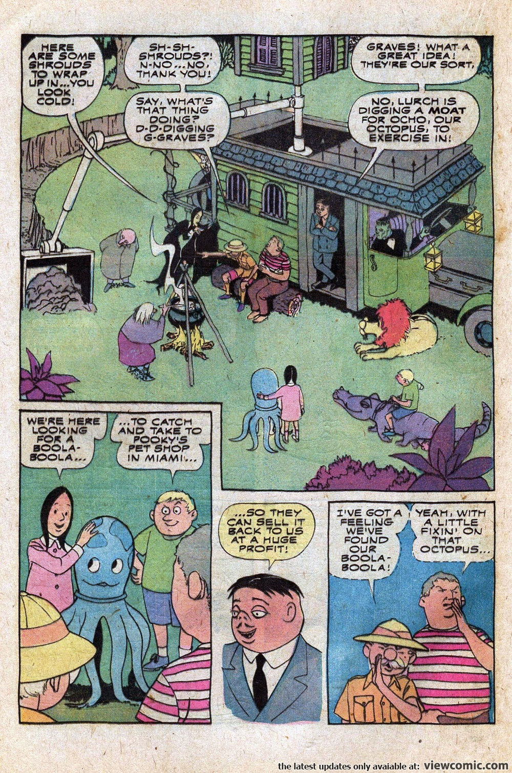 Addams Family 01 (1974)   Viewcomic reading comics online for free 2018