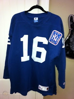 New York Giants Frank Gifford Champion Throwbacks jersey