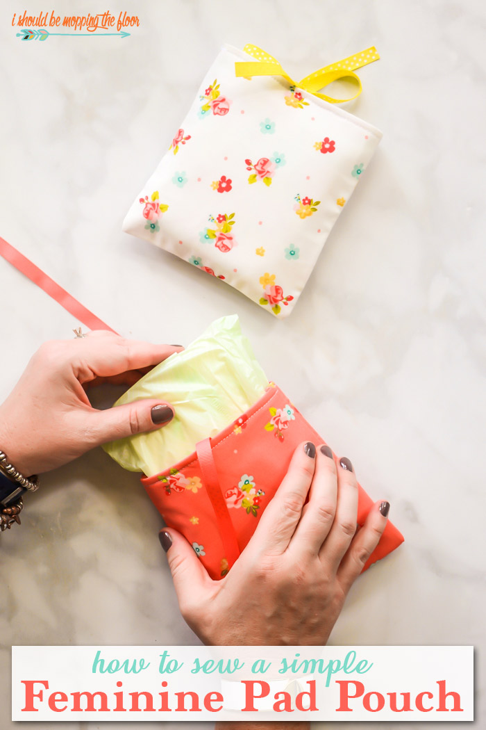 How to Sew a Feminine Pad Pouch