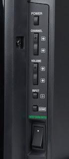 Energy saving switch in siny bravia smart tv