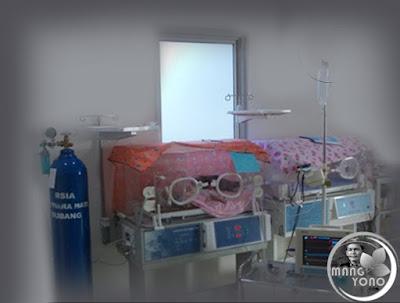 Ruang bayi RSIA Mutiara Hati, Pagaden, Subang