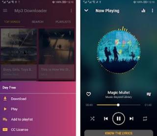 aplikasi download musik mp3 terbaik dan gratis di android-online music downloader