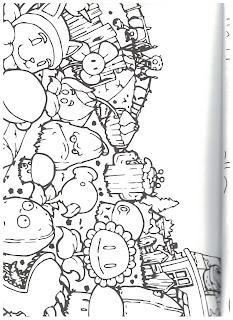 раскраска для мальчиков зомби распечатать