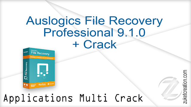 Auslogics File Recovery Professional 9.1.0 + Crack