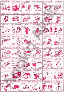 Buku Tafsir Mimpi 3D Bergambar Terlengkap 15