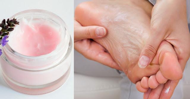 Crème pour mauvaise odeur de pied, efficace et facile à réaliser à la maison!