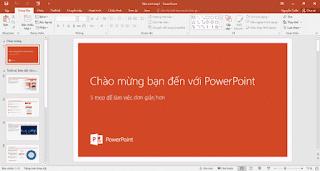 Danh sách phím tắt cho PowerPoint