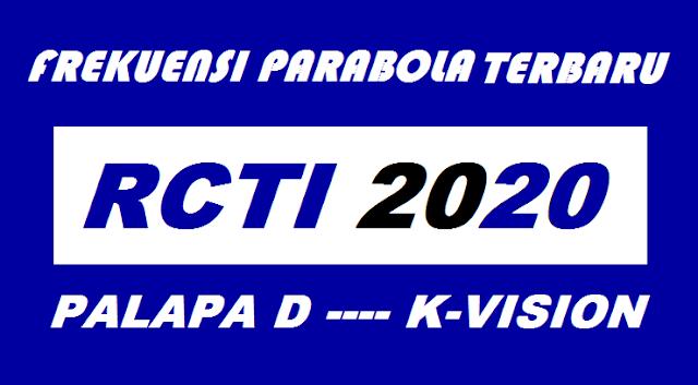 Frekuensi RCTI Terbaru 2020 di Satelit Palapa D