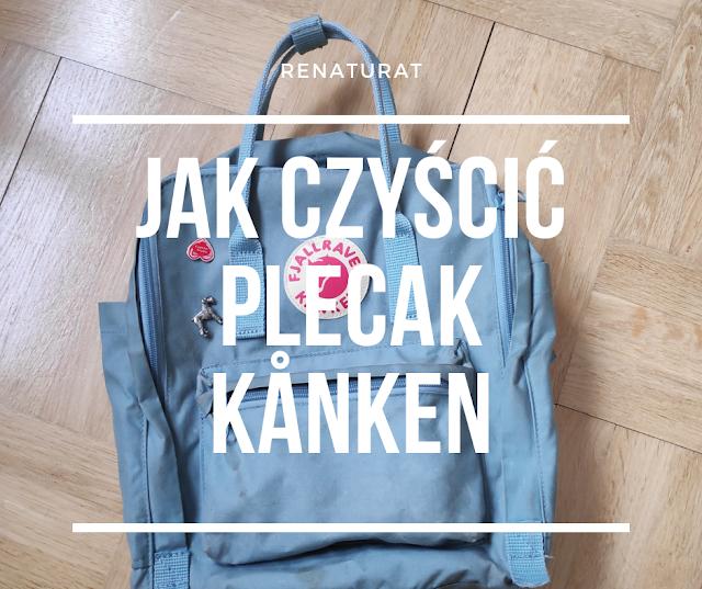 Jak czyścić plecak Kånken? 🌟 (5 kroków)