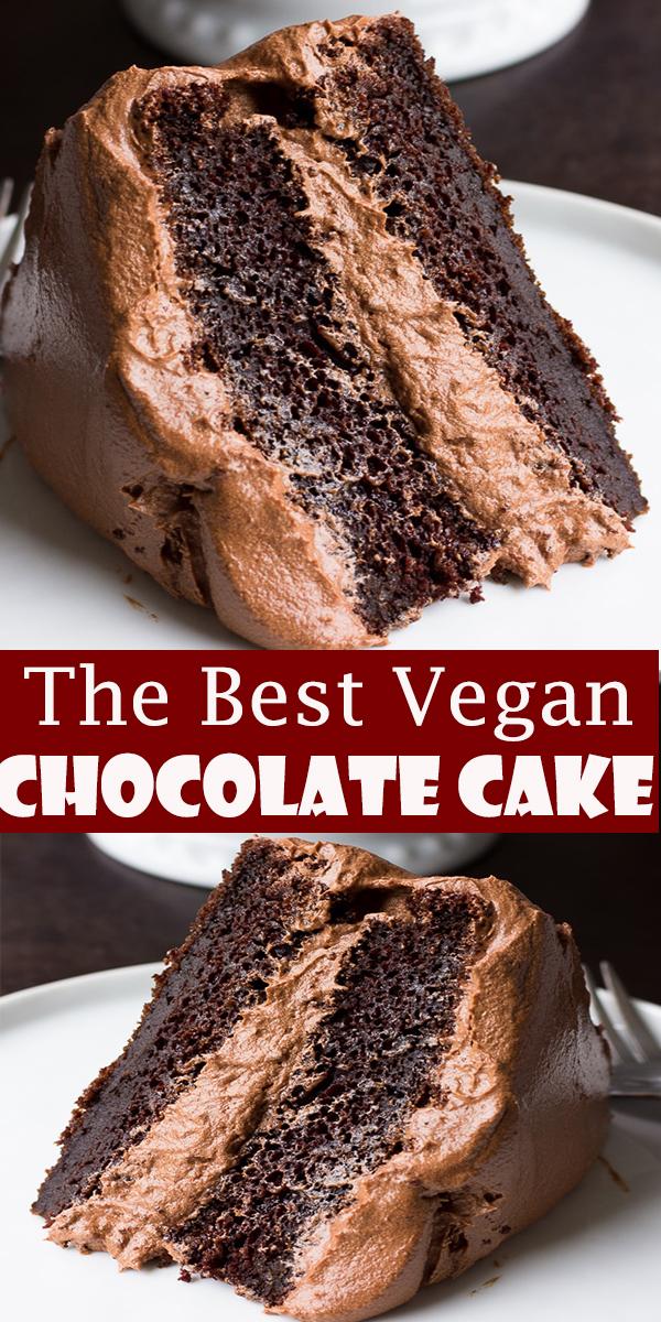 The Best Vegan Chocolate Cake #TheBestVegan #Chocolate #Cake #TheBestVeganChocolateCake # #chocolate #vegan #cake #vegancake #veganbaking