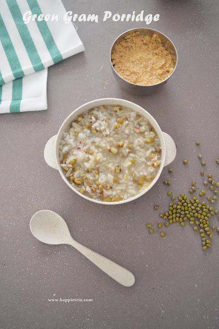 Green Gram Porridge   Pachai Payar Kanji   Green Moong Dal Porridge