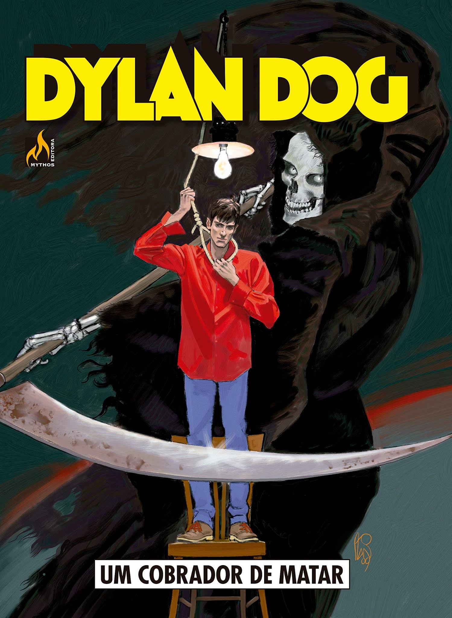 Capa da HQ Dylan Dog O caminho da vida