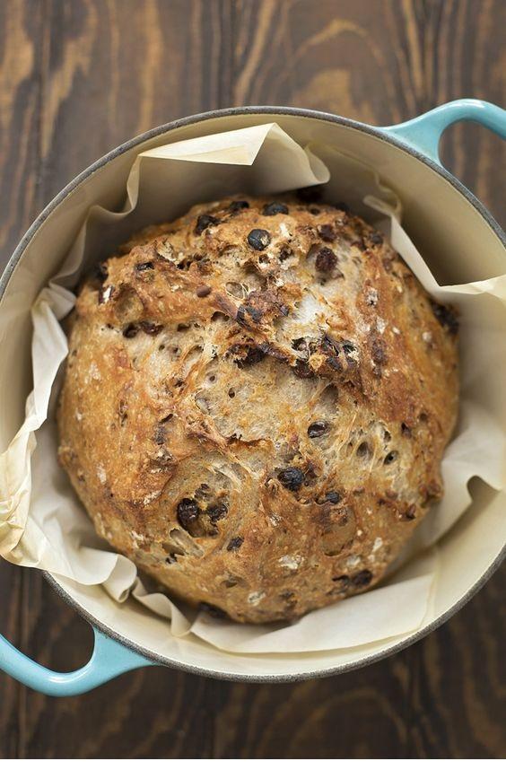 Foolproof Cinnamon Raisin Pecan Artisan Bread