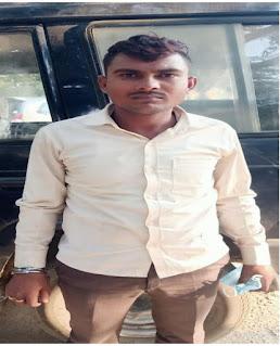 कानपुर: थाना साढ़ पुलिस टीम द्वारा एक अभियुक्त को गिरफ्तार किया