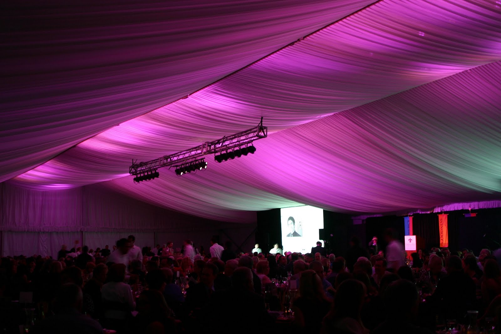 Party Tent Lighting