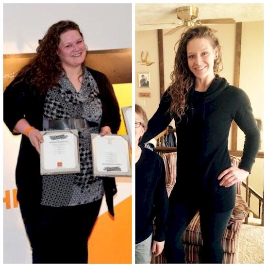 Αυτή η γυναίκα έχασε 83 κιλά σε 17 μήνες