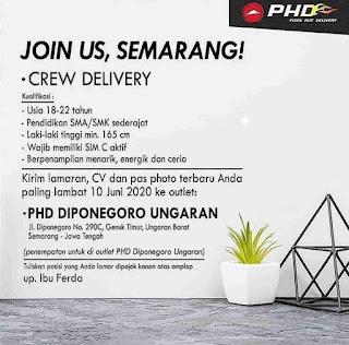 Lowongan Kerja PHD Semarang Terbaru 2020