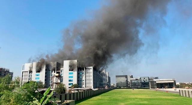 MISTÉRIO| Incêndio atinge fábrica de vacinas para covid-19 na Índia