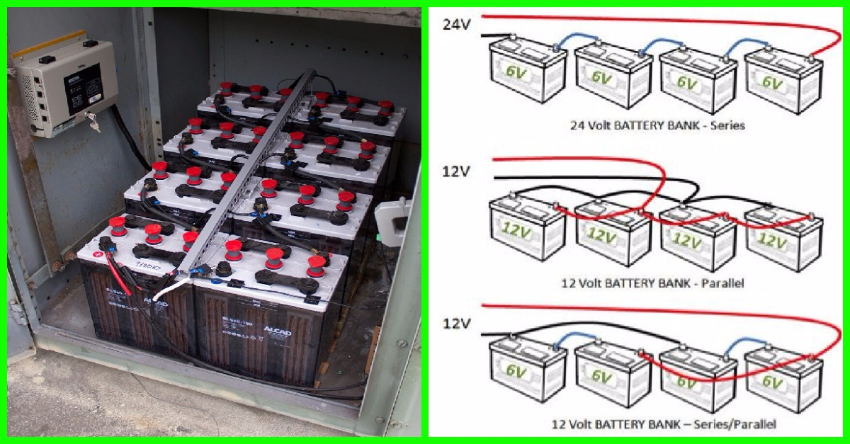 12v Battery Bank Wiring Series Parallel on transistor wiring diagram