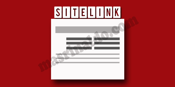 Beberapa Cara Berikut yang dapat membuat Blog sobat Mendapatkan Sitelink atau Wordpress Dengan Cepat pada Mesin Pencarian Google
