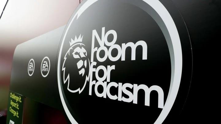 Anti rasisme Liga Inggris
