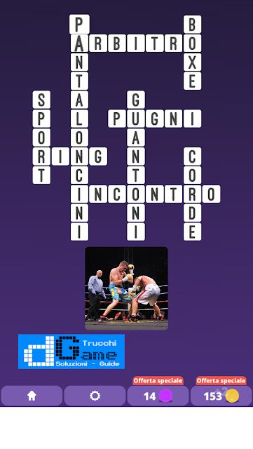 Soluzioni One Clue Crossword livello 4 schemi 9 (Cruciverba illustrato)  | Parole e foto