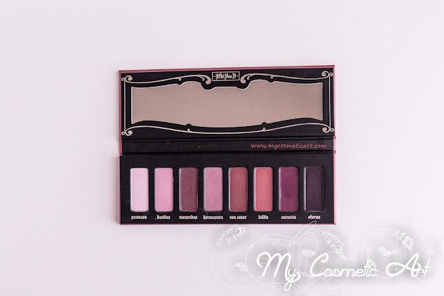 maquillaje en Sephora opinion paleta de sombras Lolita de KatVonD